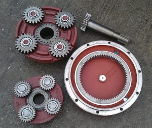 Final Drives Amp Parts Uk Construction Parts